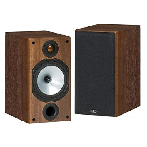 Monitor Audio MR2 Speakers - Walnut Finish