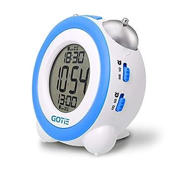 Gotie GBE-200N Reloj Despertador Digital Infantil a Pilas, Libre de BPA: Amazon.es: Electrónica