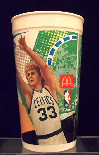 1993 McDonald's Nothing But Net MVPs Larry Bird Boston Celtics 32-Ounce Beverage Cup