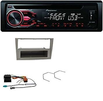 Pioneer deh-1800ub CD MP3 USB AUX Radio de coche para Opel Astra H, Corsa D, Zafira B satén de Stone: Amazon.es: Electrónica