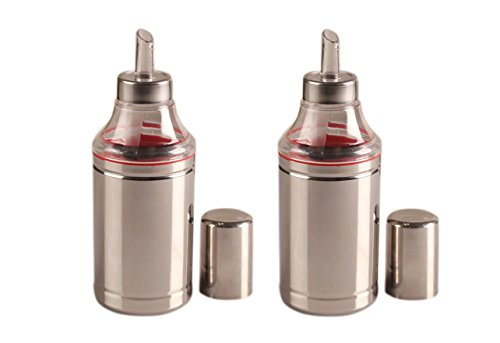 Dynore Set of 2 Oil Dropper/Dispenser   1000 ml Each