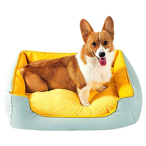 Cheap SEPETTY Dog Bed,high-Grade Pet Bed is Detachable,Easy to Clean,Waterproof,Skin-Friendly and Durable.Orthopedic Pet Beds are Available for Large,Medium and Small Dogs. Indoor and Outdoor Use.