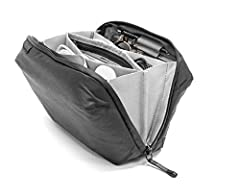 Peak Design Tech Pouch carries all of your EDC needs, cables chargers etc Whether storing cables, everyday gear, or travel essentials, Tech Pouch offers unrivaled organization and ease of access. Origami-style pockets create enormous spatial ...