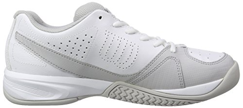 Wilson Rush Open 2.0, Men's Tennis Shoes White/Steel Grey/Cool Grey W