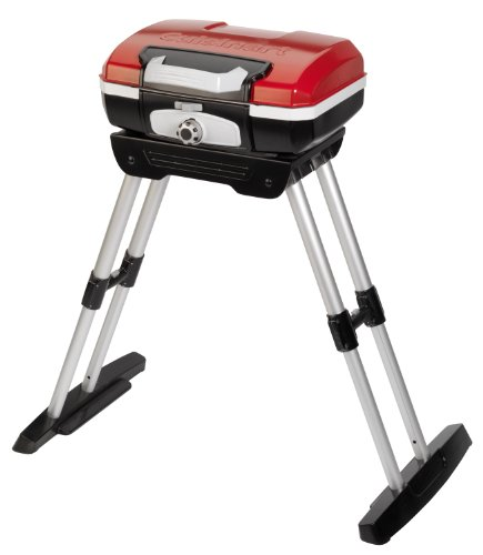 Cuisinart CGG-180 Petit Gourmet Portable Gas Grill with VersaStand, Outdoor Stuffs