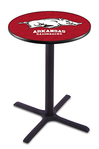 Holland Bar Stool L211B University Of Arkansas Officially Licensed Pub Table, 28
