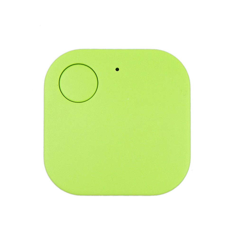 Mini GPS Tracker, Car Motor GPS Tracker Wallet Keys Alarm Locator Realtime Finder Device, Locator Positioning Spy Tracker for Vehicles Pet Child Elder People Luggage Phones Anti-Lost Tracker (Green)