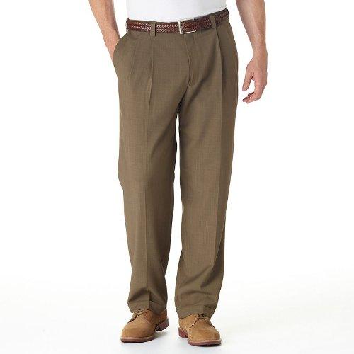 Haggar Repreve No Iron Classic Fit Pants Men