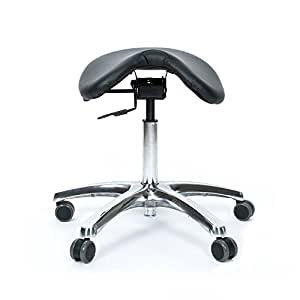 BetterPosture Saddle Chair – Ergonomic Back Posture Stool with Tilting Seat