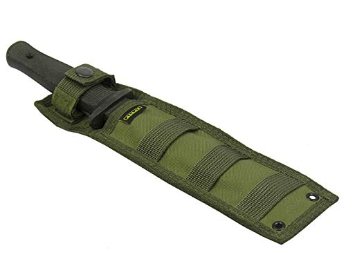 Russian sheath scabbard traning knife molle pouch airsoft hunting tactical (olive od green)