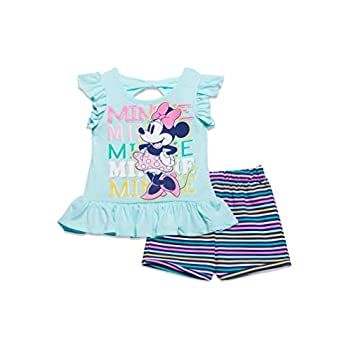 Disney Minnie Mouse Ladies T-Shirt and French Terry Shorts Set