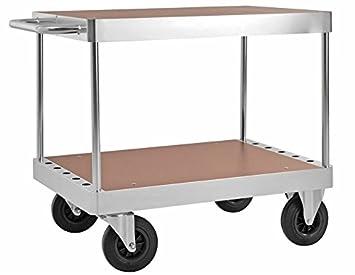 Mesa carrito transportador (Piso carro carrito Laboratorio carro Taller carro: Amazon.es: Bricolaje y herramientas