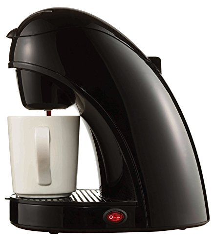 Brentwood Single Cup Coffee Maker- Black TS-112B