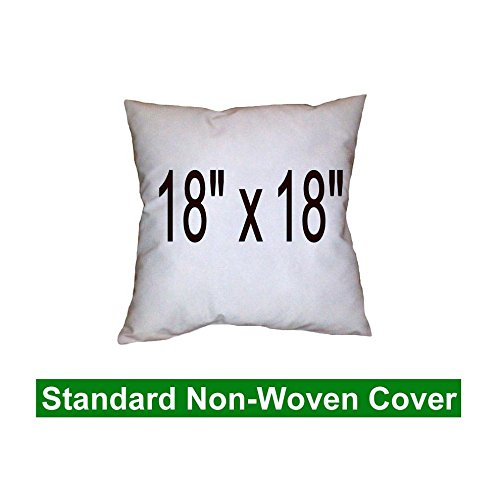 Pillow Insert 18 x 18 Square - 100% Polyester Fibre Filled Hometex