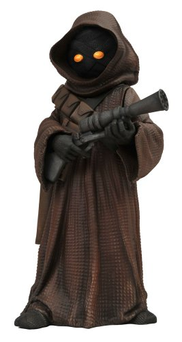C2e2 Exclusive Diamond Select Star Wars Vinyl Jawa Bank With Pistol Limited To 250