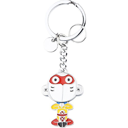 MXD Cute Creative Chinese Monkey King Keychain Car Pendant Bag Pendant Creative Fashion Cartoon Purse Accessories Keychain Graduation Gift Birthday Gift (Shape : A1) ()