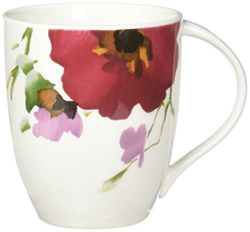 Mikasa Garden Palette Bouquet Mug, 14-Ounce