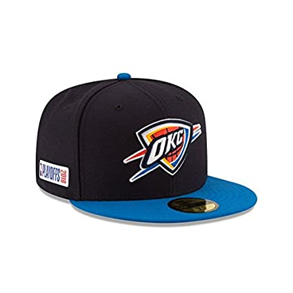brand new 920cf 5412f New Era Oklahoma City Thunder 2018 NBA Playoffs Fitted 59Fifty Hat (7 1 2