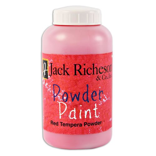 Dry Tempera Paint - Powdered Tempera Paint (Red)