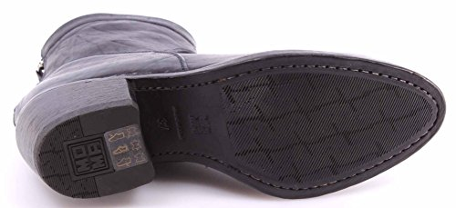 Mujer Vintage Botines Blu vd Piel Zapatos Moma Azul 90501 Ankle Appalosa Boots F6fZqw