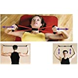 Rubber Chest Expander Yoga Resistance Chest Exerciser, Rope Pull Exerciser (Size : 14 Inch (Without Stretch))
