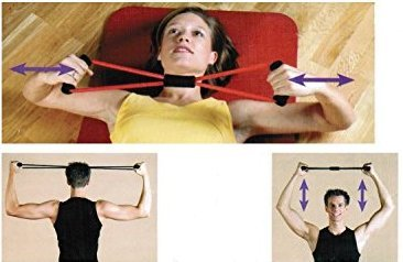 buy home cube without stretch rubber chest expander yoga resistance