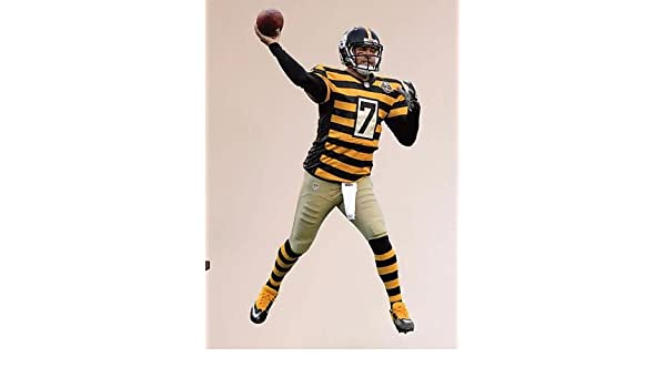 sports shoes 99fd5 fe7a7 Amazon.com: Ben Roethlisberger FATHEAD Pittsburgh Steelers ...