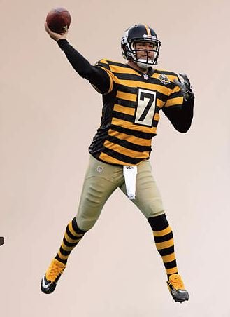 sports shoes 88872 b8359 Amazon.com: Ben Roethlisberger FATHEAD Pittsburgh Steelers ...