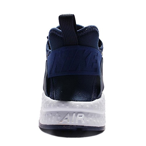 Nike Womens Huarache Run Ultra Prm Hardloopschoenen Midnight Navy 400