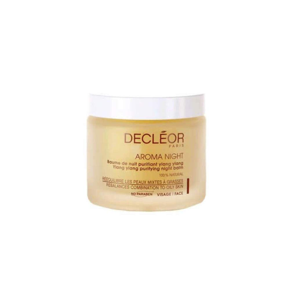 Decleor Aroma Night Ylang Ylang Purifying Night Balm, Salon Size, 3.3 Ounce