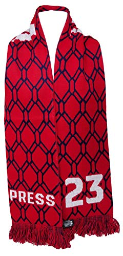 (RUFFNECK US Women's National Team Player-Christen Press Soccer Scarf, Red, One Size )