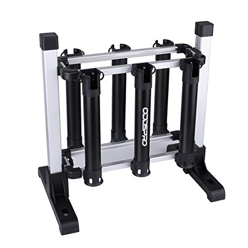 ODDSPRO Fishing Rod Rack, Portable Fishing Rod Storage Rack - Fishing Rod Holder for All Types of Fishing Rod and Reel Combos