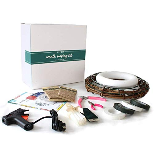 - DIY Wreath Kit - A Wreath Making Kit is Perfect for Making Beautiful, Custom DIY Wreaths - Wreath Craft Kit Includes Everything You Need - Beginner Friendly Wreaths Kit - Wall or Door Wreath Kit