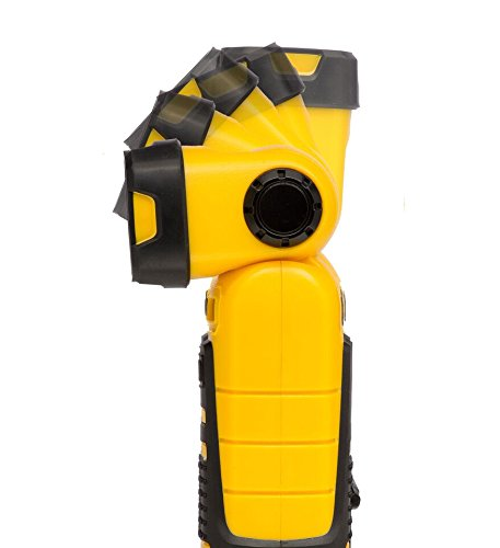 Cat CT20101P 140 Lumen Rechargeable Pivot Head LED Worklight with a Magnetic Base and Pivoting Hanger (Black/Yellow)