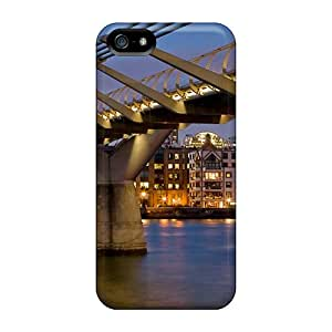 Hot Tpu Cover Case For Iphone/ 5/5s Case Cover Skin - St Pauls Cathedral
