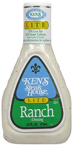 Ken's Steak House Lite Ranch Dressing (2 - Light Ranch Calories