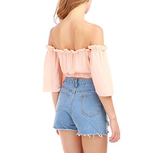La Modeuse - Camiseta sin mangas - para mujer Rose