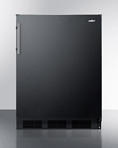 Summit CT663B Refrigerator, Black