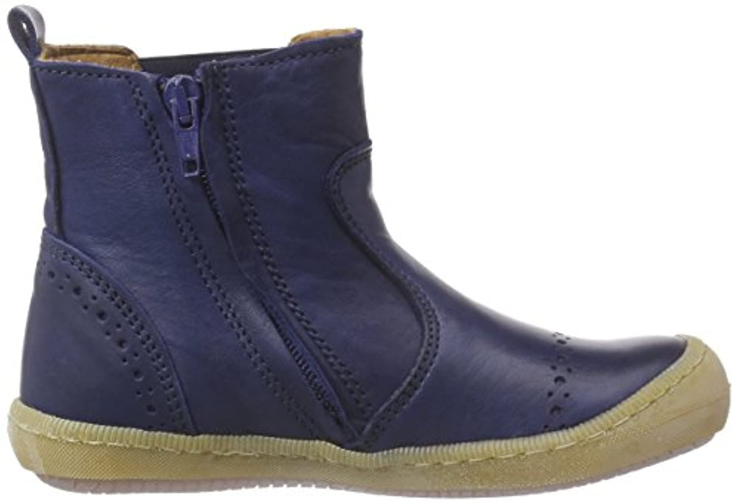 Bisgaard Unisex Kids' Boot Cold lined Chelsea boots short length Blue Size: 7 Child UK