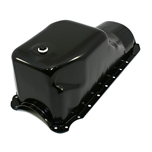 - Assault Racing Products A9294-2 Big Block Chevy Black Stock Style 6qt Oil Pan Truck Mark IV BBC 396 402 427 454