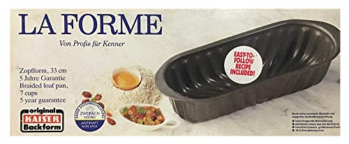 (Kaiser Backform 7 Cup LA FORME Braided Loaf Pan Cake Baking Pan)