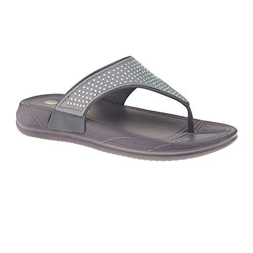 Donna London Aperto Footwear Retro Grey qxRfAp4