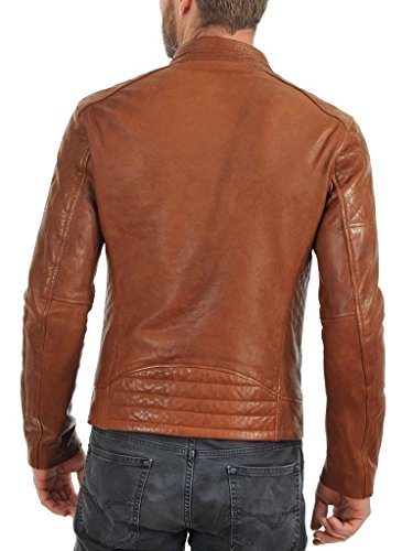 Leather Uomo Junction Giacca Giacca Uomo Junction Brown Brown Leather g0wTrqxg
