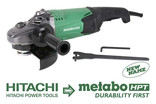 Metabo HPT G18ST 7-Inch Angle Grinder, 15-Amp Motor, 6,000 RPM, Class-Leading Overload Durability, 3,950W, 1-Year Warranty