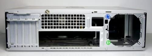 HP/Compaq dc5750 SFF small form factor BTX escritorio carcasa vacía 40 x 12 x 36 cm plata/negro: Amazon.es: Informática