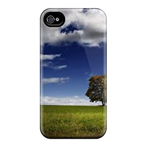 Premium Nice Tree In Space Back Covers Snap On Cases For Iphone 4/4s
