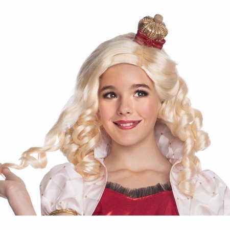 Ever After High Apple White Child Wig - Ever After High Apple White Wig
