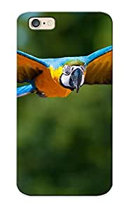 New Arrival Case Cover Jldyqd-4829-zhvepyi With Design For Iphone 6- Animals Birds Parrots Nature Wildlife Flight Fly Wings Feathers Colors Beak Eyes Stare Look Tropical Jungles Trees Forest Best Gift Choice For Lovers