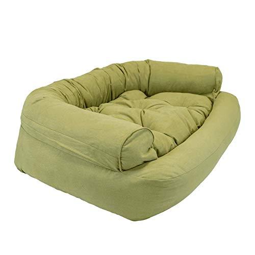 Snoozer Pet Products - Overstuffed Luxury Dog Sofa | Large - Lime