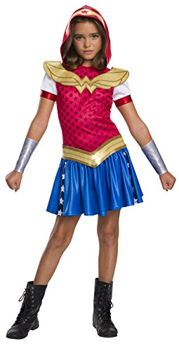 Rubie's DC Super Hero Girls Wonder Woman Hoodie Dress, Small